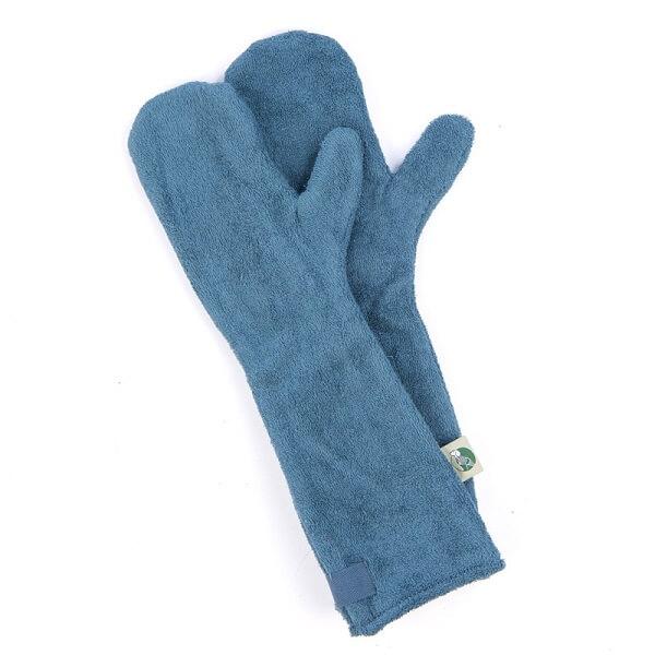 Drooghandschoen van het merk Ruff and Tumble kleur blauw