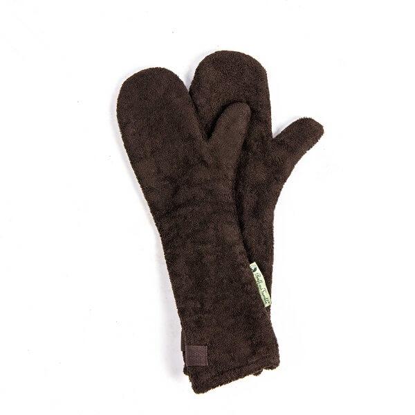 Drooghandschoen van het merk Ruff and Tumble kleur bruin