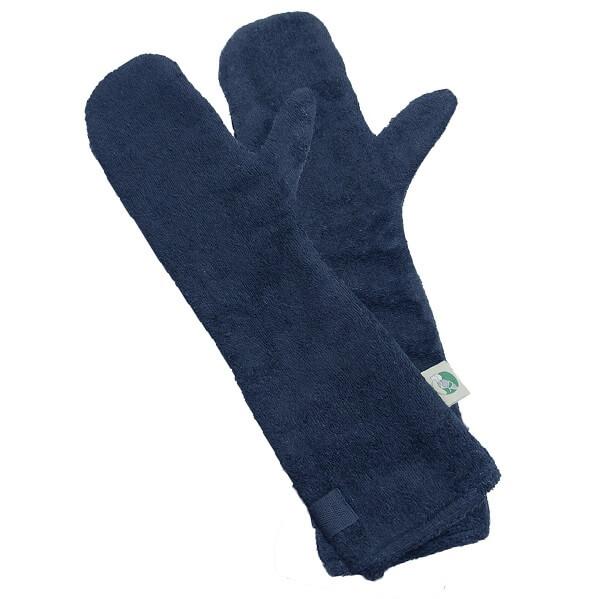 Drooghandschoen van het merk Ruff and Tumble kleur donkerblauw